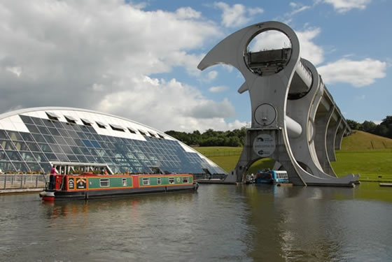 The Falkirk Wheel, Scotland